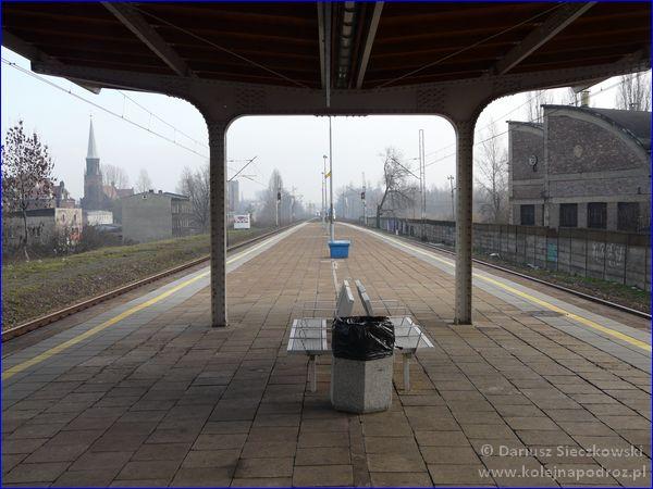 Świętochłowice - stacja kolejowa - peron