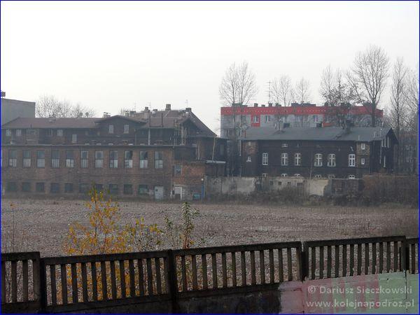 Świętochłowice - stacja kolejowa - widok z peronu