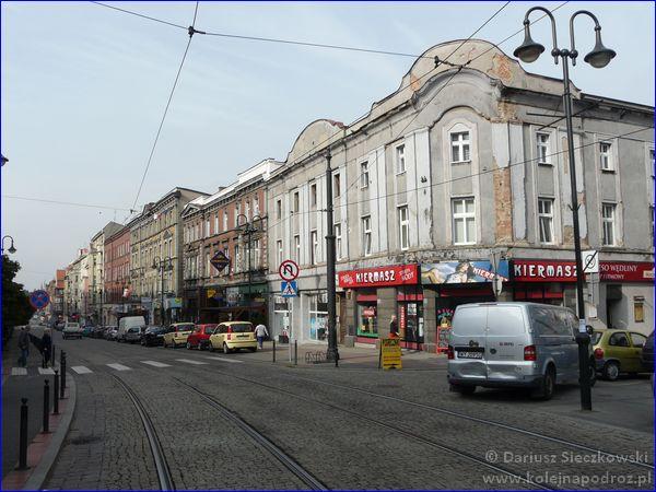 Zabrze - ulica Wolności