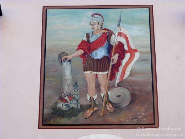 Malowidło w Żywcu