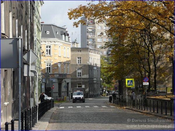 ulica Dolnych Wałów w Gliwicach