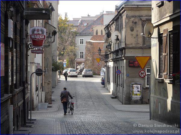 ulica Średnia w Gliwicach