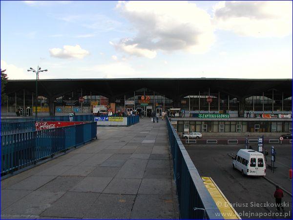 Katowice - dworzec kolejowy w 2006 roku