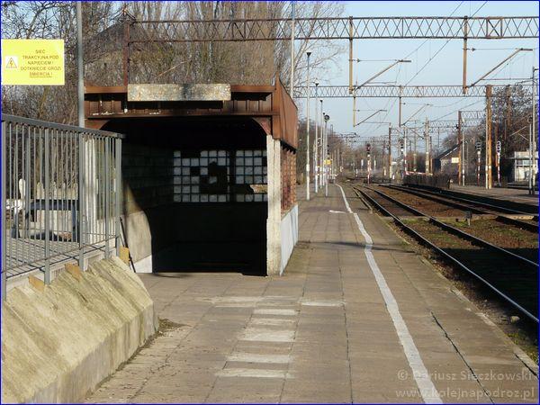 Kościan - dworzec kolejowy - peron 1