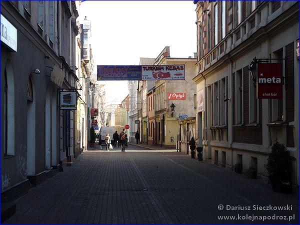 Leszno - ulica Bracka