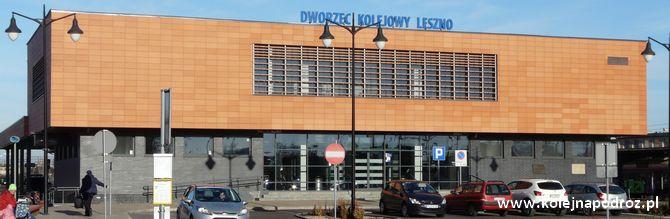 Dworzec kolejowy w Lesznie – informacje