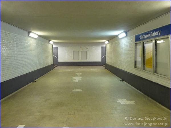 Chorzów Batory - przejście na perony