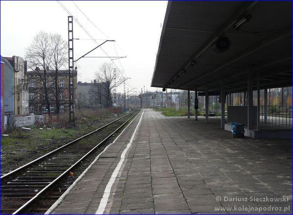 Chorzów Miasto - peron