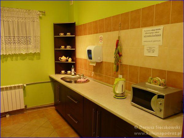 Hotel Sportowy w Rawiczu - kuchnia