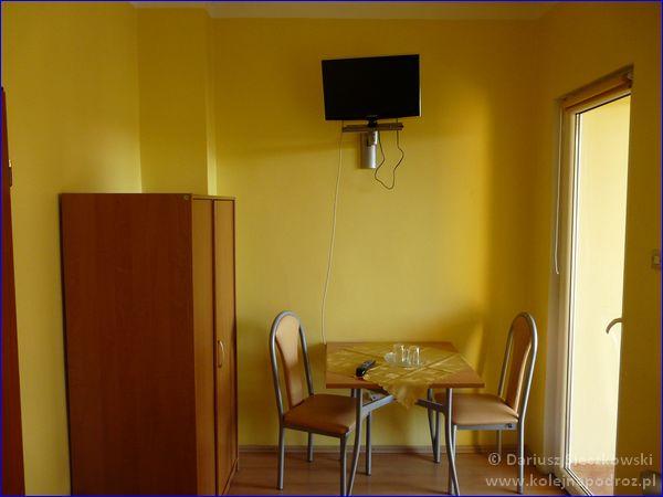 Hotel Sportowy w Rawiczu - mój pokój
