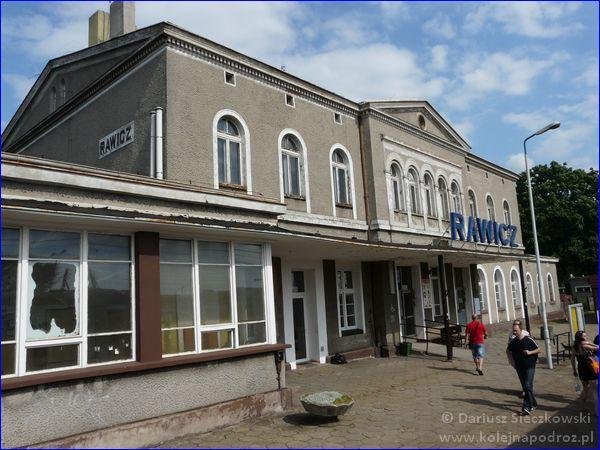 Dworzec kolejowy w Rawiczu