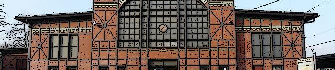 Ruda Chebzie – dworzec kolejowy (przed remontem)