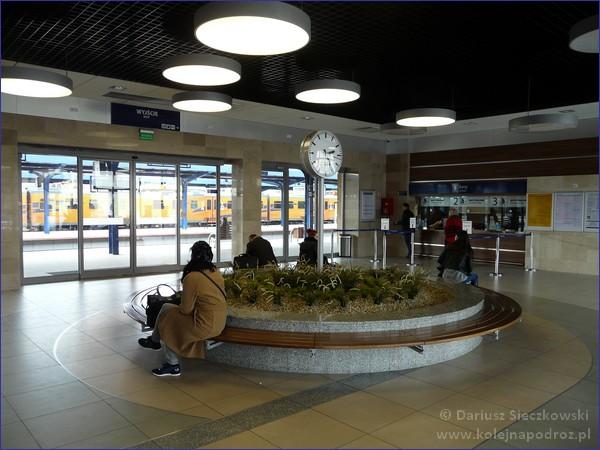 Hol dworca w Ostrowie Wielkopolskim