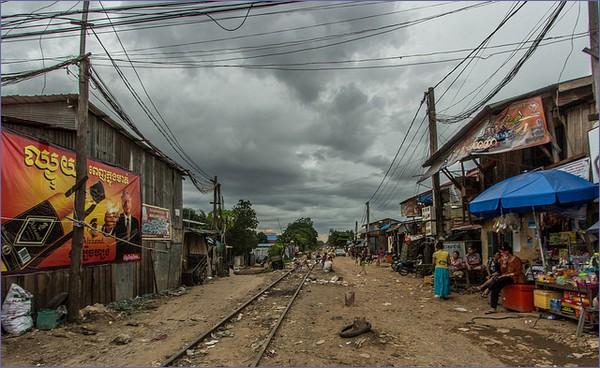 Kolej w Kambodży