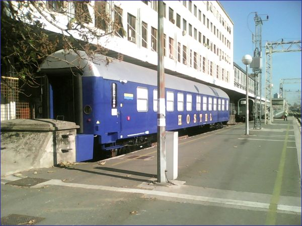 Adriatic Train Hostel