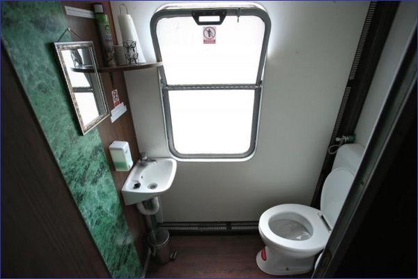 Adriatic Train Hostel - toaleta