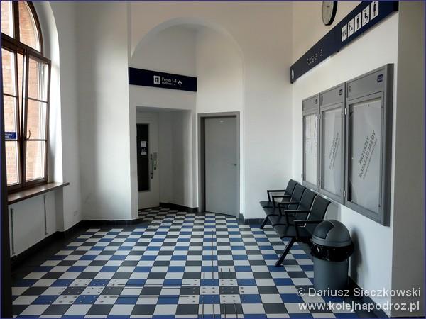 Dworzec kolejowy w Kępnie