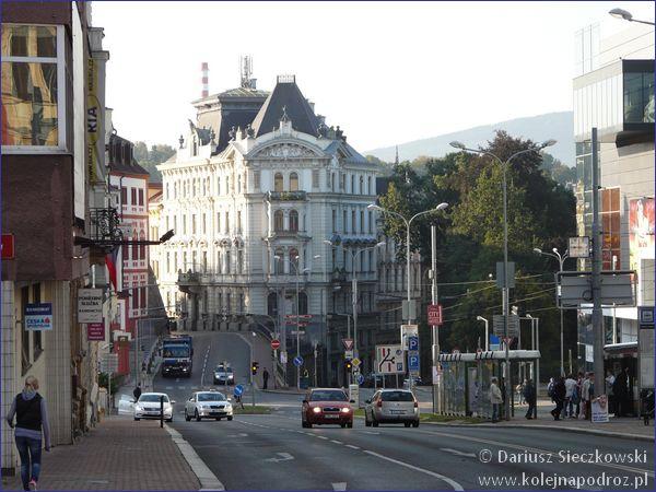 Liberec - ulica 5 Maja