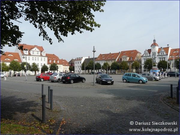 Ostritz - rynek