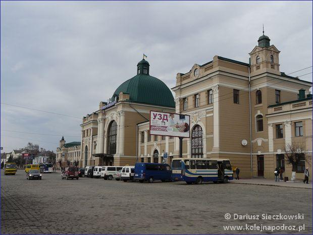 Iwano-Frankowsk - dworzec kolejowy