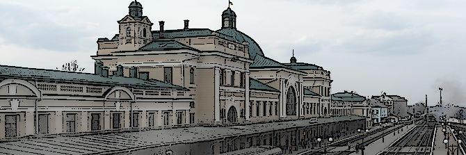 Iwano-Frankowsk – dworzec kolejowy