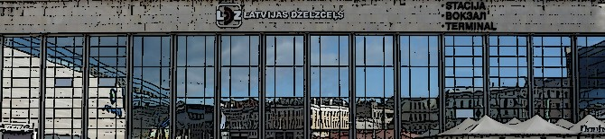Dworzec kolejowy w Rydze – info