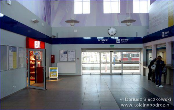 Hol dworca kolejowego w Elblągu