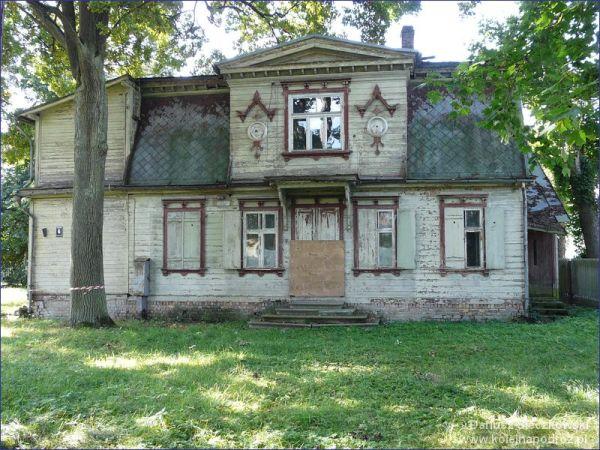 Drewaniany domek