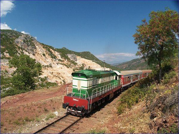 Pogradec pociąg