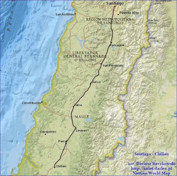 Santiago - Chillan