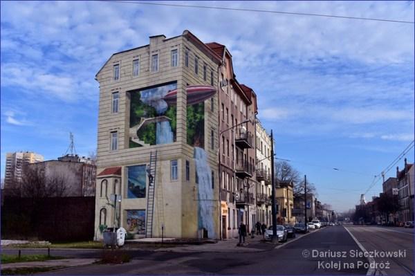 Trójwymiarowy mural