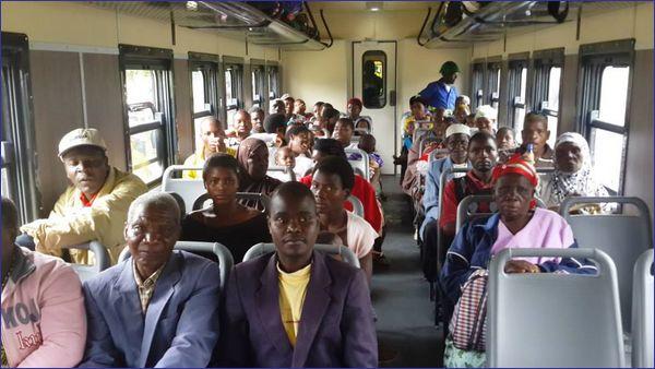 Malawi pociąg