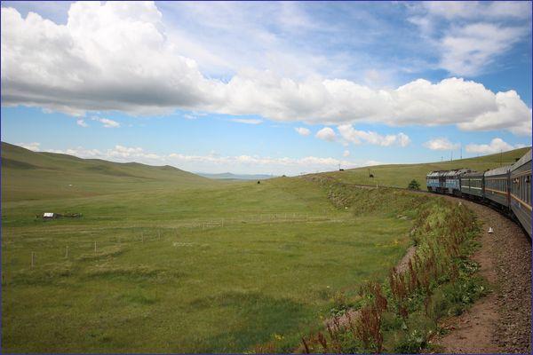 Mongolia widok