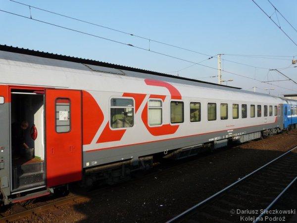 Rosja pociąg