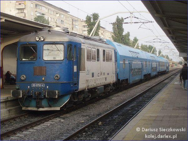 Rumunia pociąg
