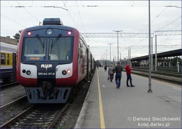 Ryga - Valga pociąg