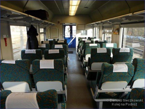 Pociąg EIC - wagon bezprzedziałowy