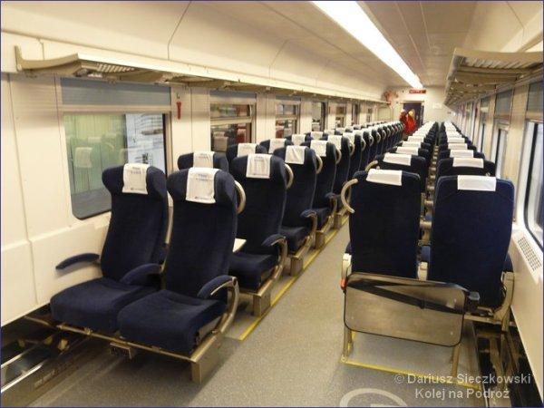 PKP Intercity - wagon II klasy