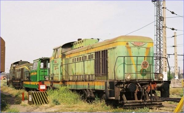 Maroko lokomotywa