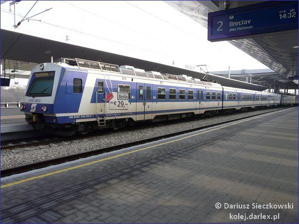 Wiedeń pociąg miejski