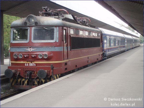 Grecja Sofia pociąg