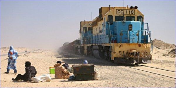 Mauretania pociąg