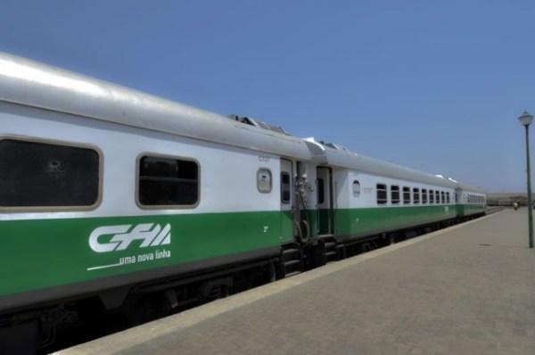 Mozambik pociąg