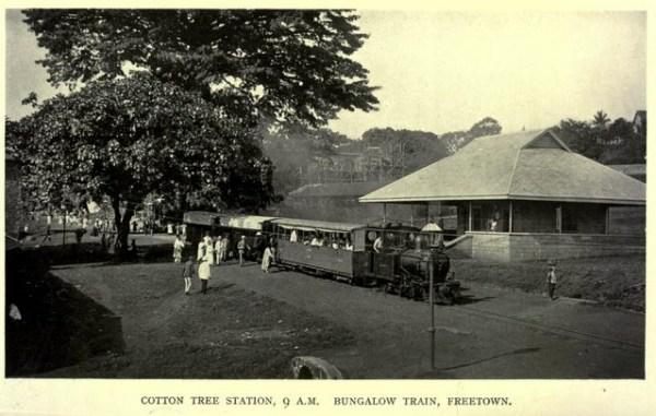 Sierra Leone pociąg