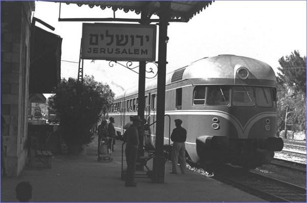 Izrael pociąg