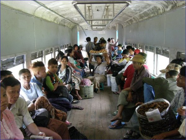 Yangoon Circle Train