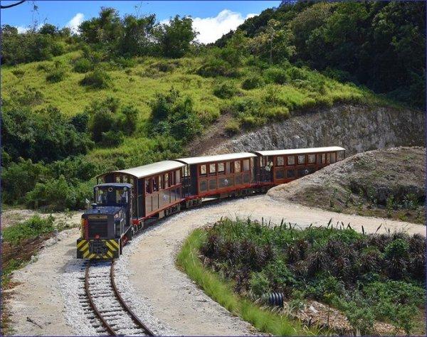 Barbados pociąg