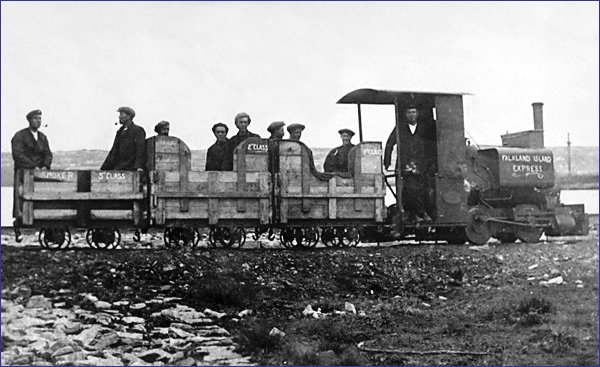 Falklandy pociąg