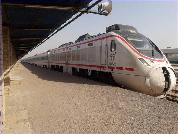 Irak pociąg