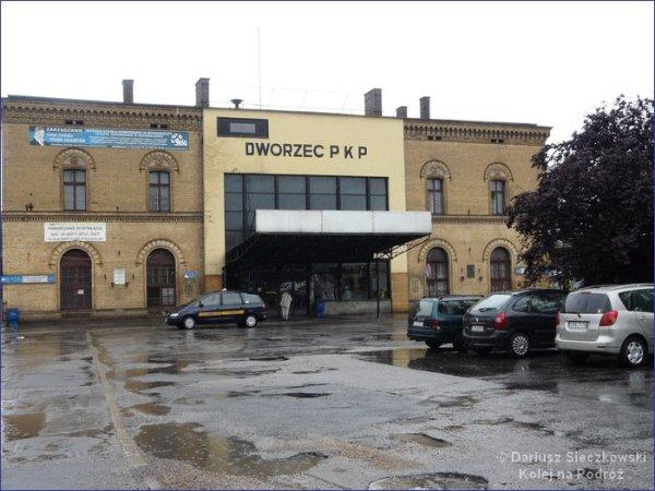 Inowrocław dworzec